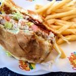 Johnny Rockets Vegan Streamliner Burger Rocks!